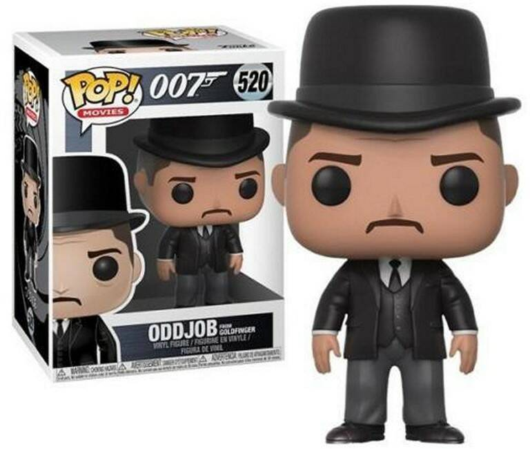 POP24706 - POP! MOVIES JAMES BOND ODDJOB (520)