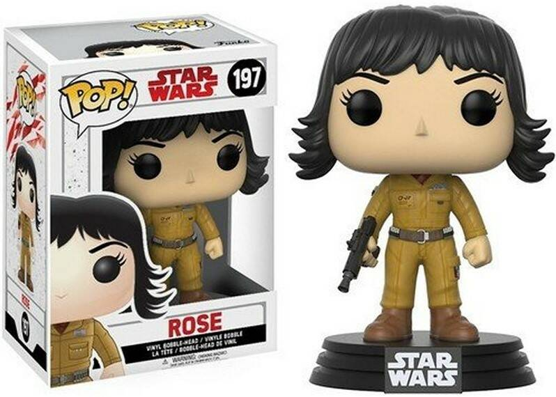 POP14754 - POP! STAR WARS LAST JEDI ROSE (197)