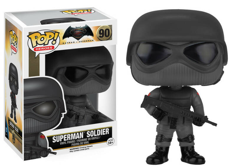 POP7579 - POP! HEROES Superman Soldier (90)