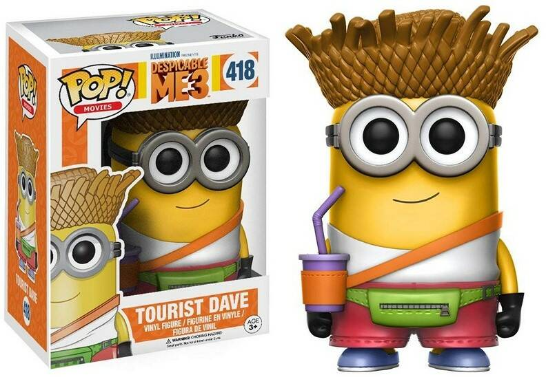 POP13426 - POP! VINYL DESPICABLE ME 3 DAVE TOURIST (418)