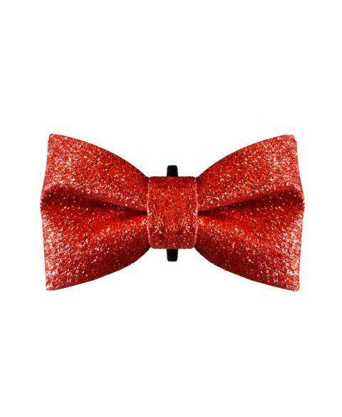 Bow Tie - Stardust Red
