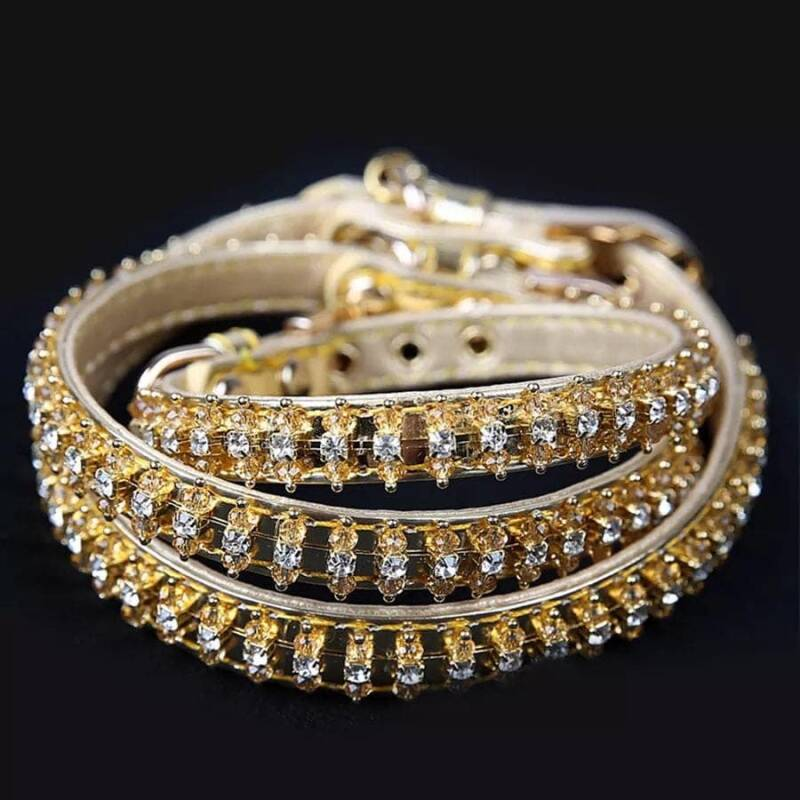 Collier Strass  - Gold