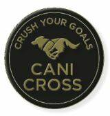 Crush Your Goals 2021 Pin Canicross