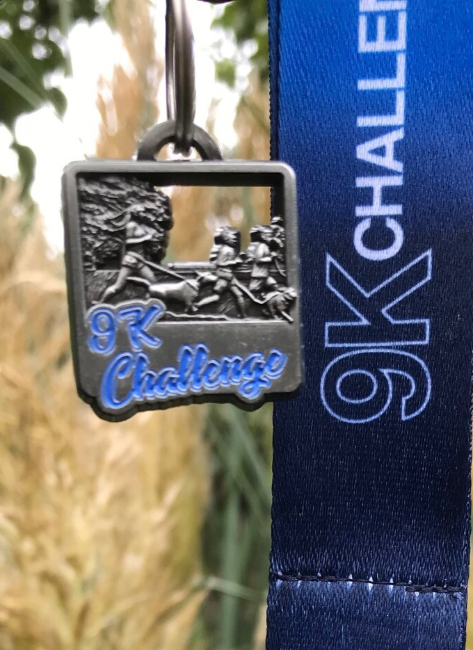 9K Challenge 2020 extra medaille hond