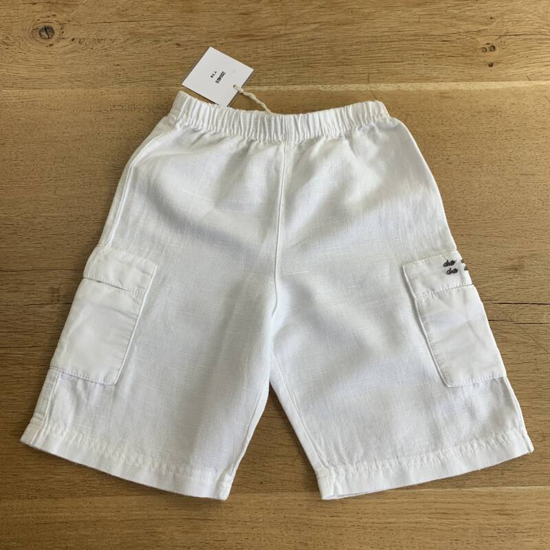 SHORT 2D048 WIT LINNEN 2