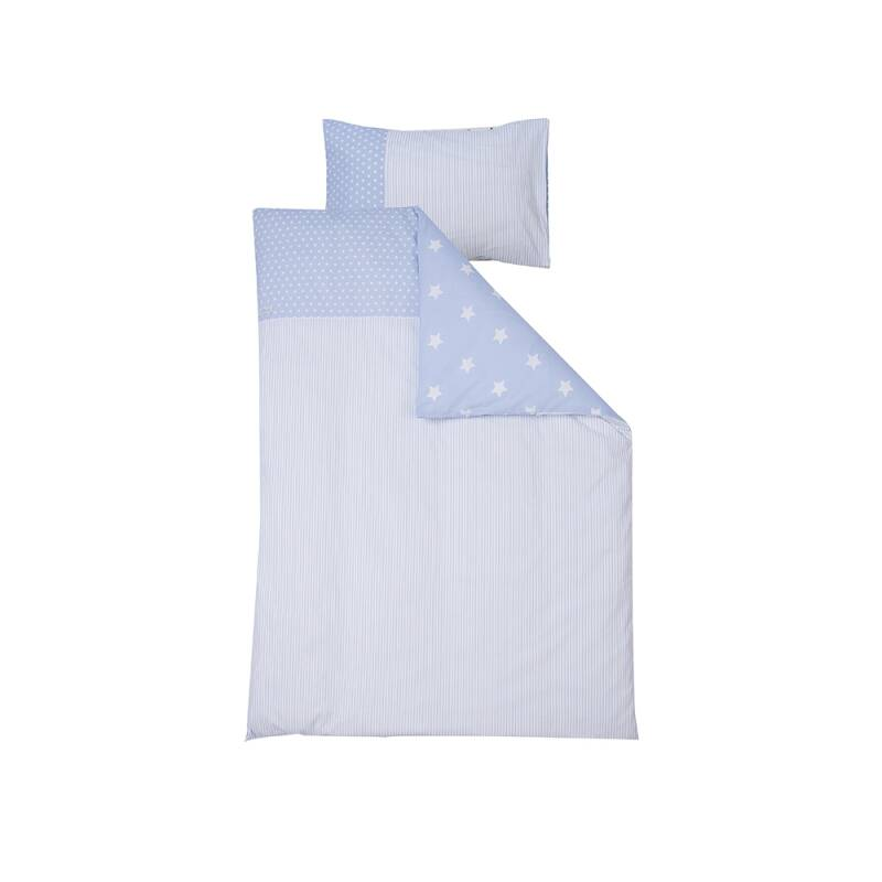 LITTLE DUTCH DONSOVERTREK BABYBED BLUE STARS