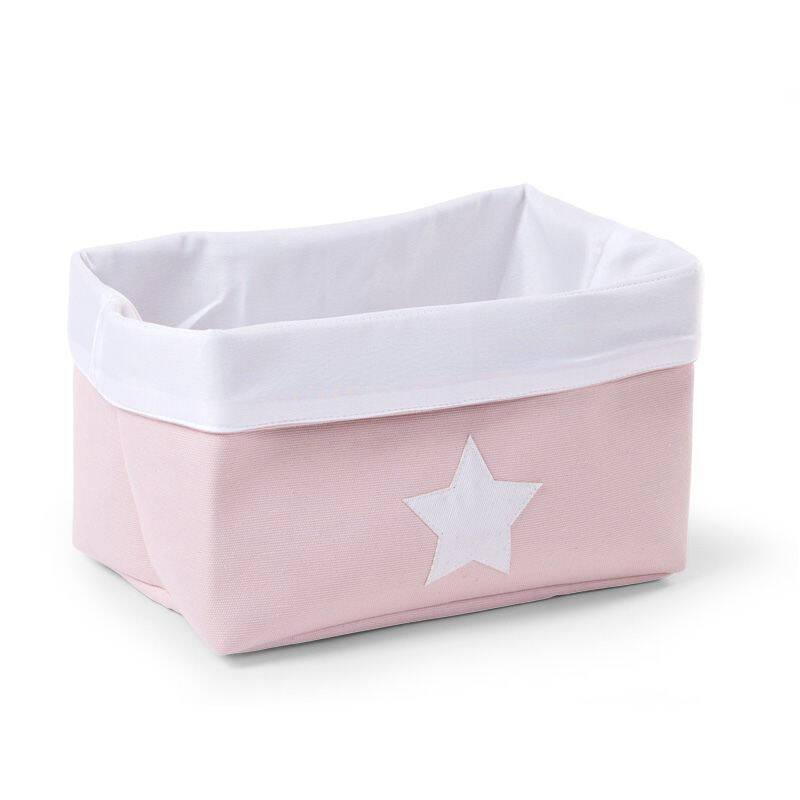 CHILDHOME CANVAS BOX PINK/WHITE