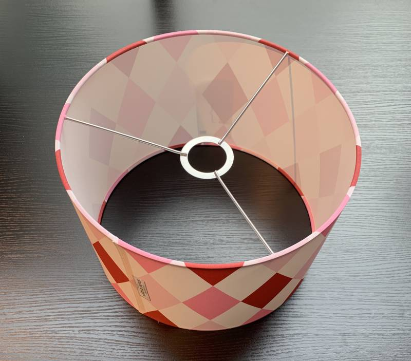 LITTLE DUTCH HANGLAMP LOZENGE PINK/RED