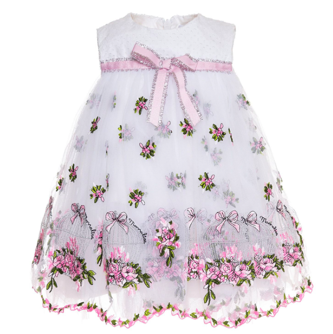 ABITO RIC. CAGES E ROSES TULLE