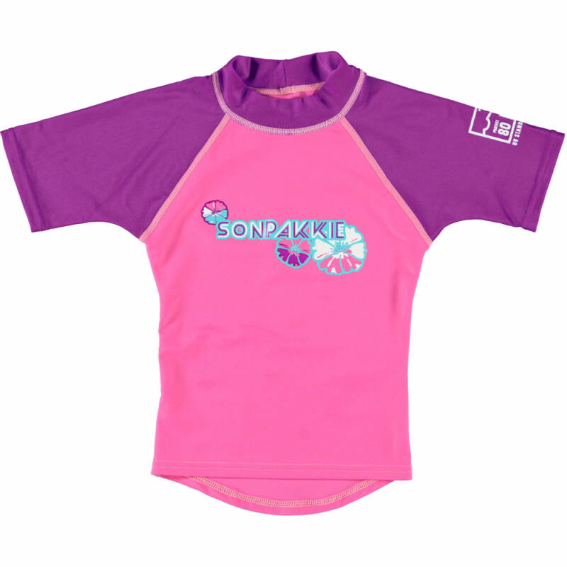 SONPAKKIE UV SHIRT CUTE FLOWER PAARS 2-3 JAAR