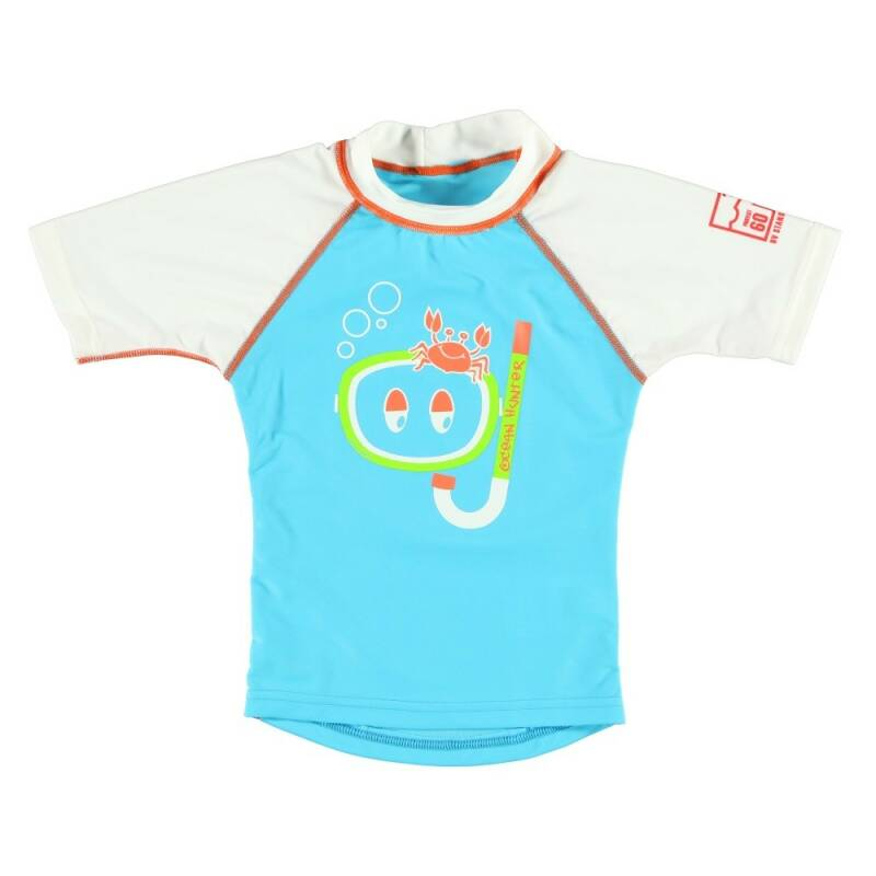 SONPAKKIE UV SHIRT OCEAN HUNTER AQUA 3-4 JAAR