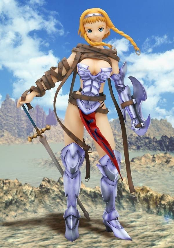 Queen's Blade - Leina - R-Line - 1/10 - DX Color