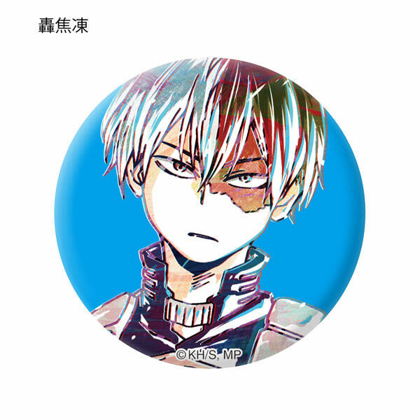 Boku no hero Academia: Ani-Art Tin Badge - Shoto Todoroki