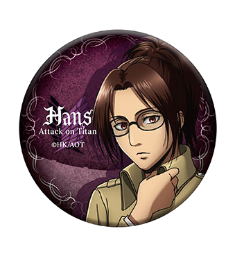 Attack on Titan badge: Hange Zoë - season 3