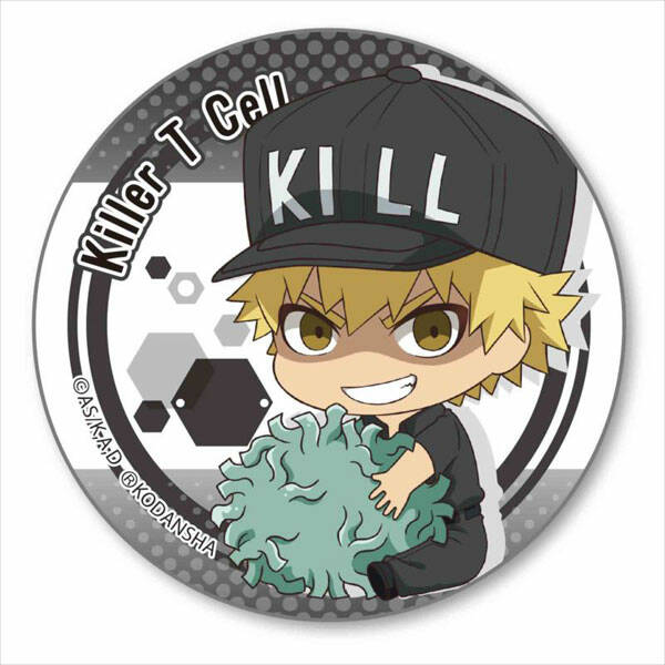 Cells at Work! badge - Killer T cell