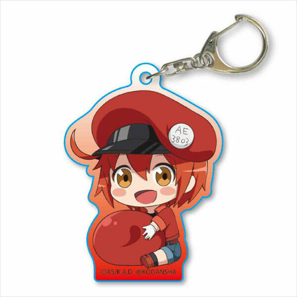 Cells at Work!: Red bloodcell - keychain