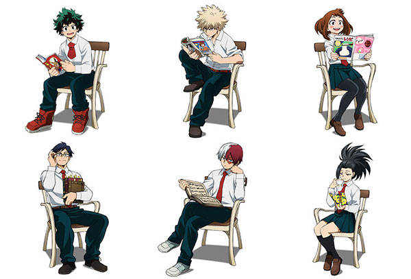 Boku no hero academia: Autumn of reading mini shikishi