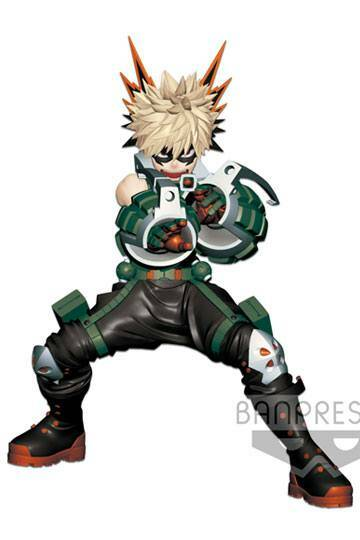 Boku no hero academia:  Enter the hero version Katsuki Bakugo (PRE-ORDER)