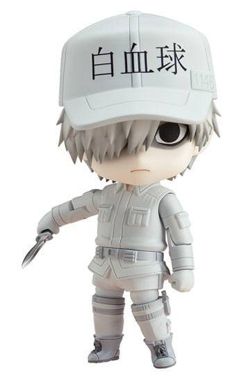 Cells at Work! Nendoroid Action Figure White Blood Cell (PRE-ORDER)