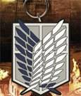 Attack on Titan - Survey Corps rubber keychain (PRE-ORDER)