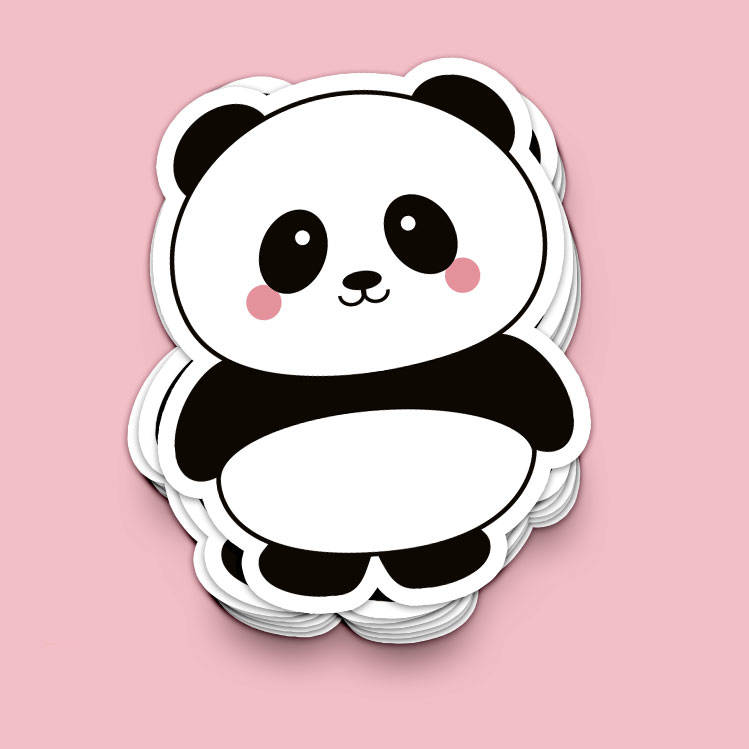 Studio Inktvis - Panda sticker
