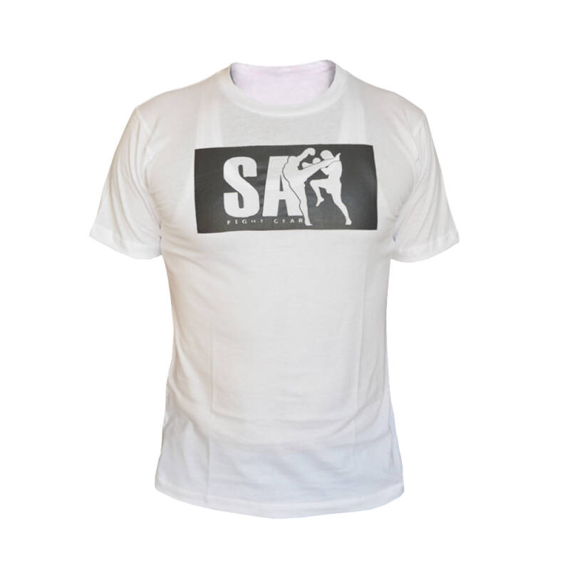 SA Fightgear t-shirt wit/zwart