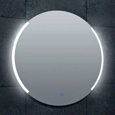 Spiegel WB rond 80 met dimbare LED verlichting