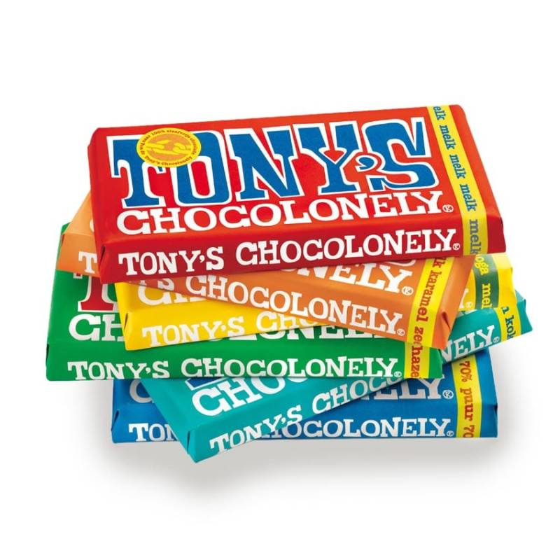 Tony's Chocolonely | Fair Trade Choco | Diverse varianten