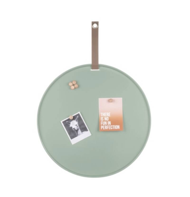 Magneetbord present time groen