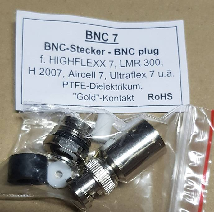 BNC M / Aircell 7