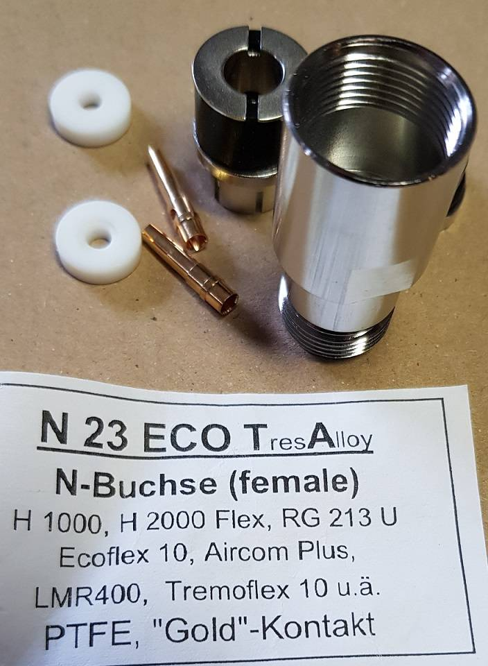 N Connector F / Aircom