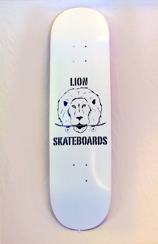 Lion skateboard complete set 1