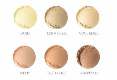 Mineral Foundation Sand