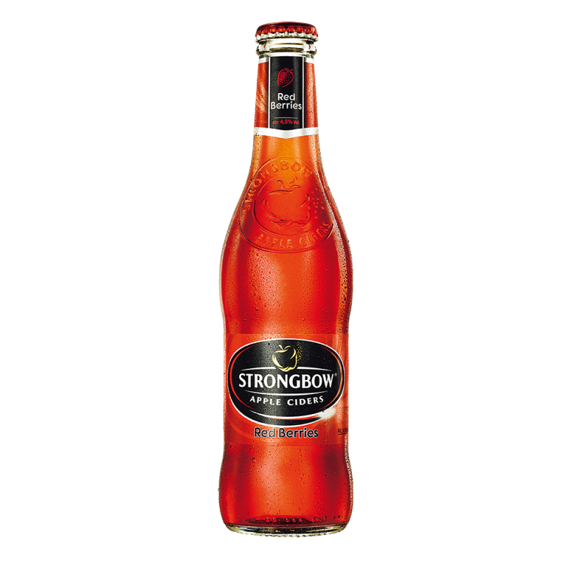 strongbow red