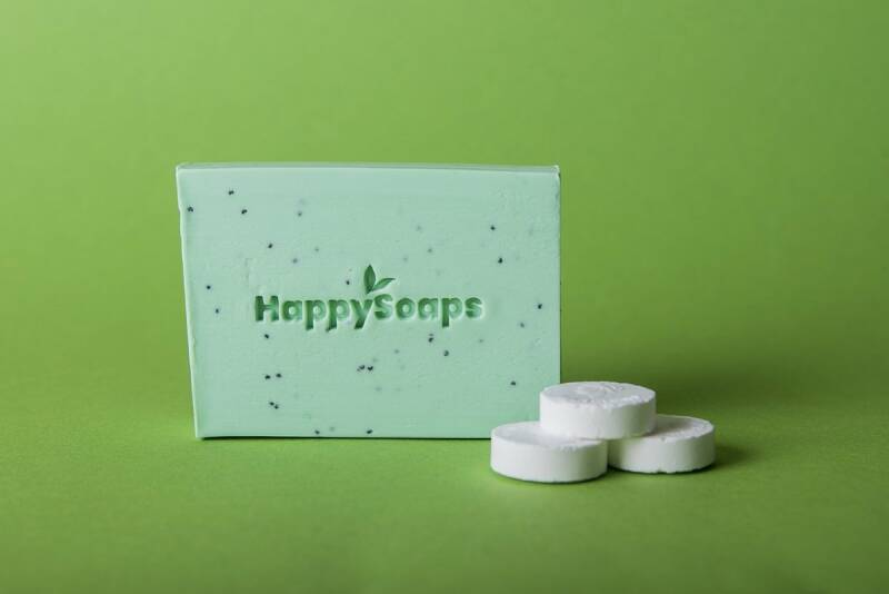Happy Body Bar - Tea Tree en Pepermunt