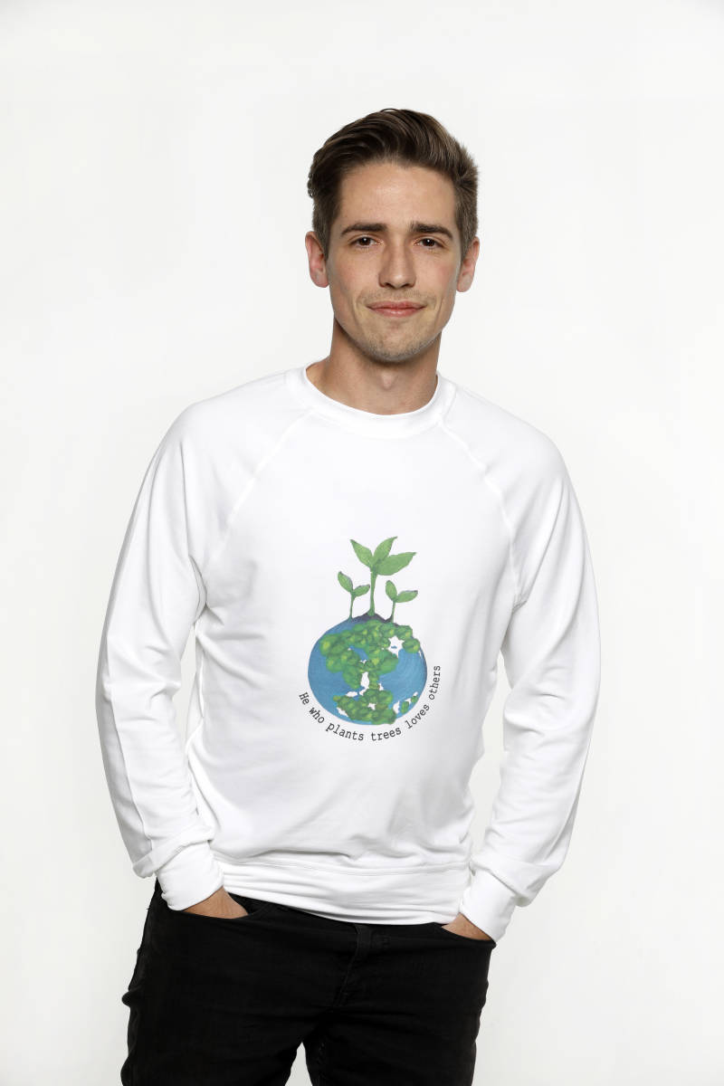 Trui - He who plants trees loves others