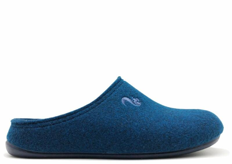 Thies ® Recycled PET Slipper vegan navy (W/M)