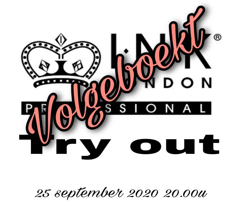 Ink London Try-out 25 september