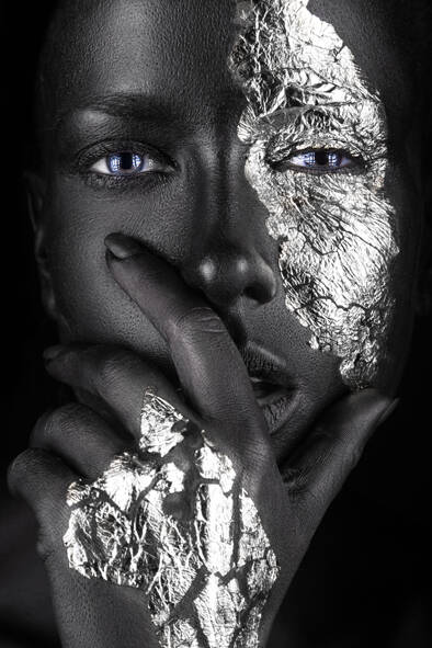 Woman Silver Hand