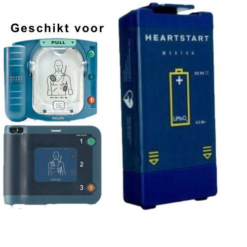 AED Accu voor Phillips HS-1 of FRX