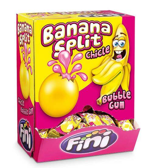 Banana split bubblegum