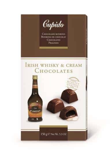 Chocolade bonbons irish whisky & cream