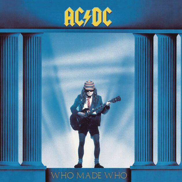 AC-DC Who made who CD