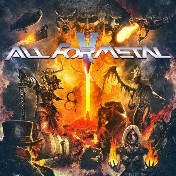 ALL FOR METAL All for metal(compilation CD+DVD) CD