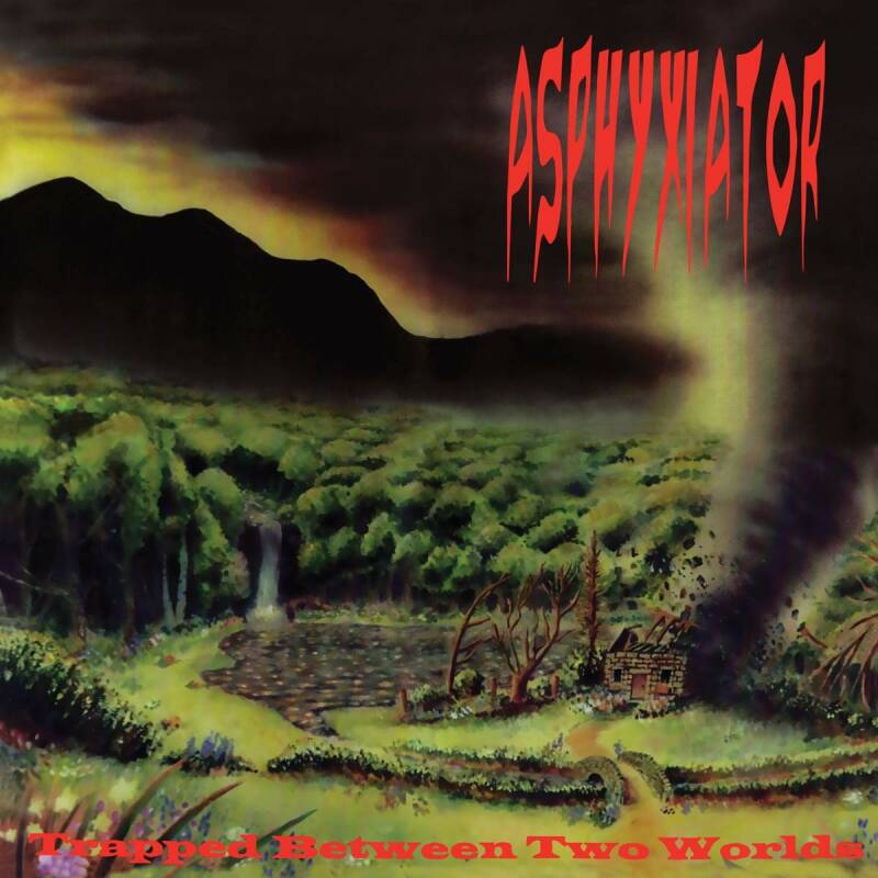 ASPHYXIATOR Trapped between two worlds CD