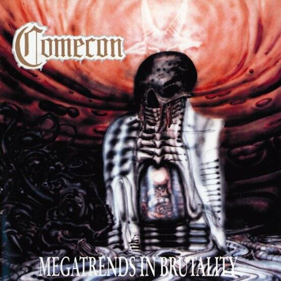 COMECON Megatrends in brutality(white vinyl) LP