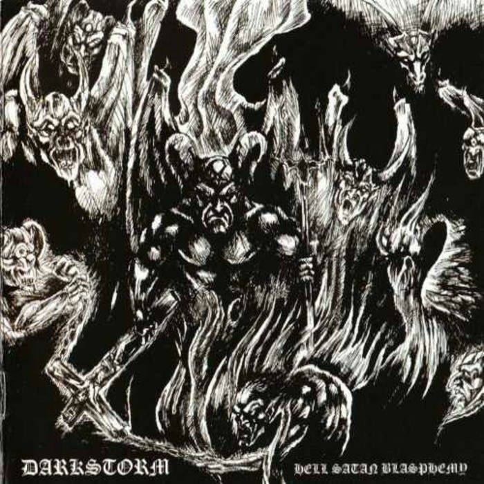 DARKSTORM Hell satan blasphomy CD