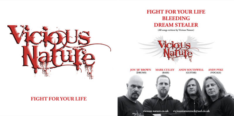 Vicious Nature FIGHT FOR YOUR LIVE EP