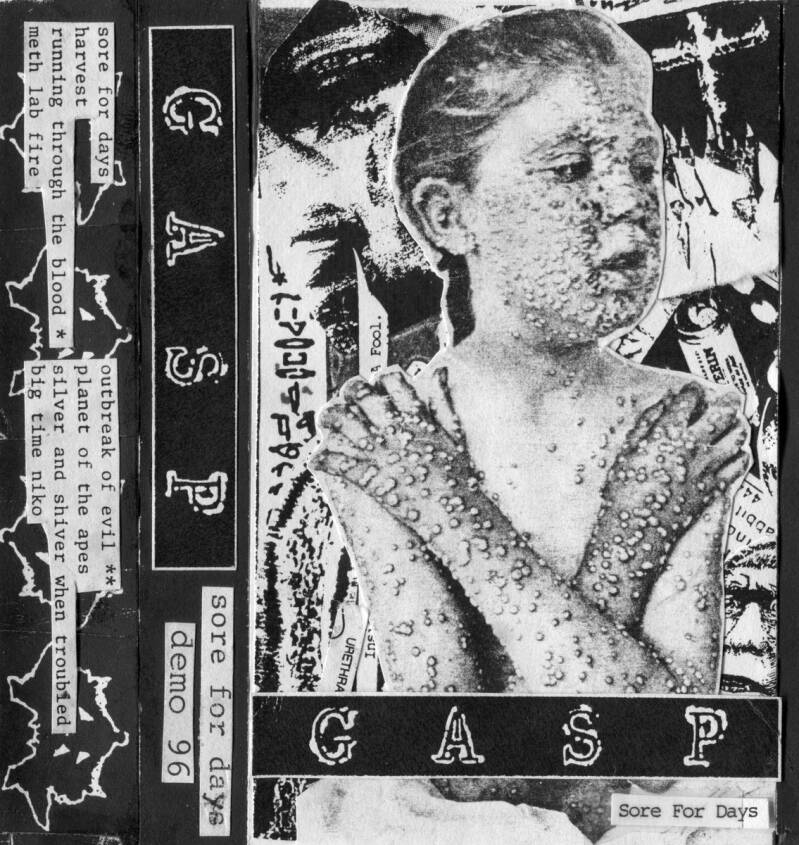 GASP Sore for days (demo) CD