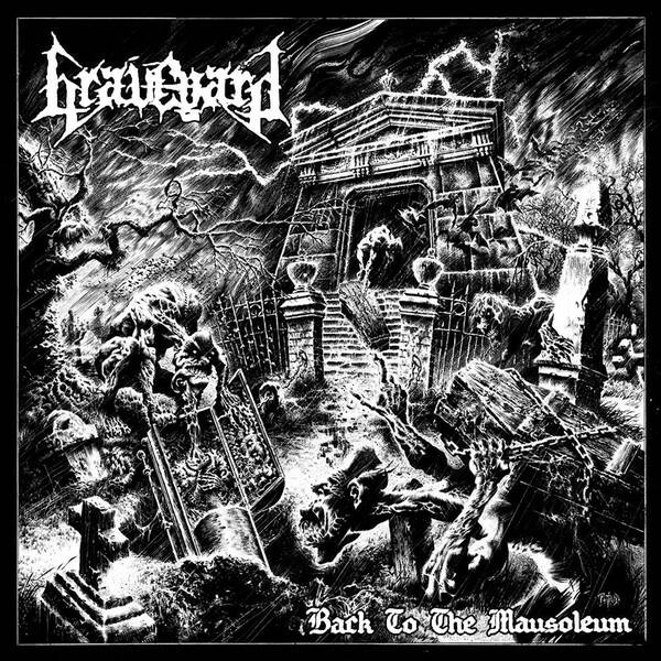 GRAVEYARD Back to the mausoleum CD